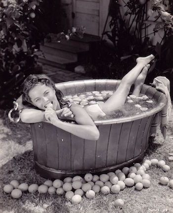 Dona Drake singer and actress relaxing as a young girl