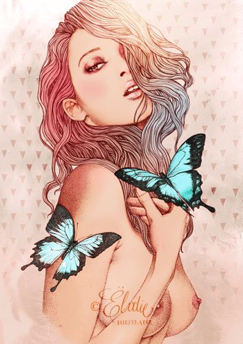 Ëlodie, french illustrator - Best of -