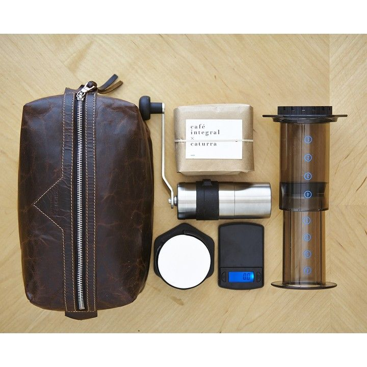 Travel Coffee Maker Kit : For the coffee dude who has everything, an AeroPress Travel Kit! Precious pinner said: