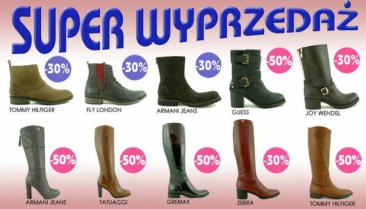 Super wyprzedaż - obuwie zimowe 2014 w dobrej cenie do -50% http://zebra-buty.pl/promocje