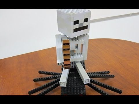 how to make a lego minecraft spider