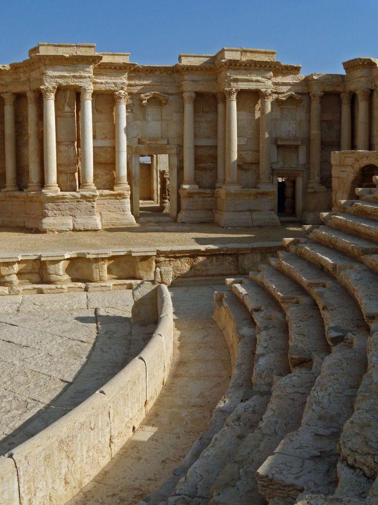 Il teatro di Palmira in Siria
