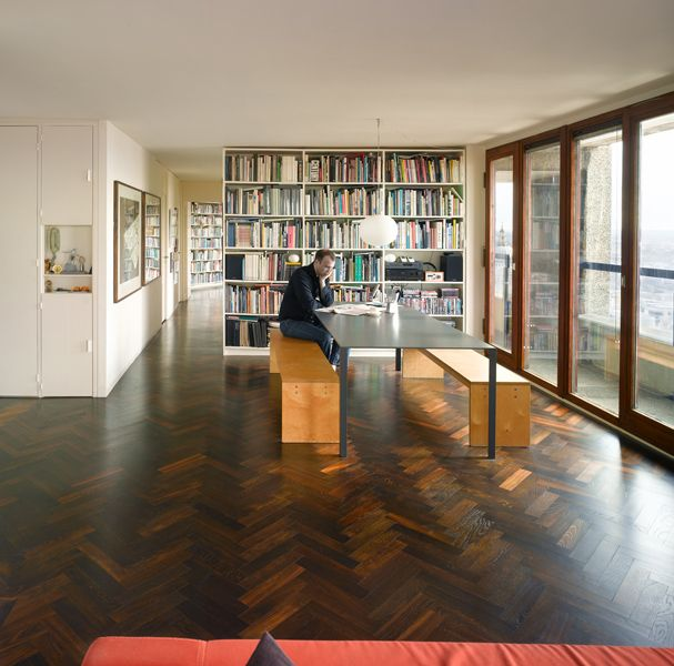 17 best images about barbican flats on pinterest london for Best interior designs for flats