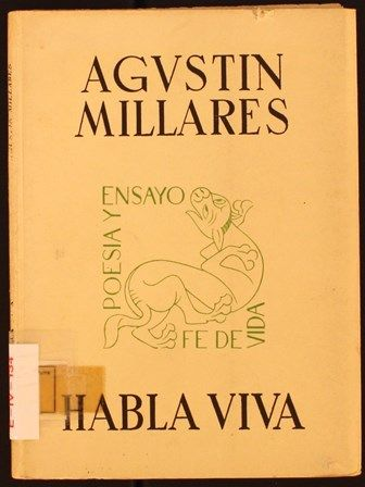 Habla viva / Agustín Millares. 1964. http://absysnetweb.bbtk.ull.es/cgi-bin/abnetopac01?TITN=321916