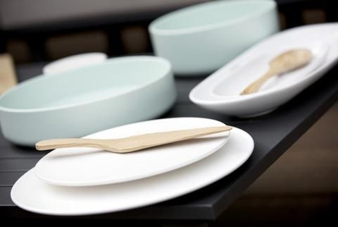 Mint Home | Sienna Shallow Bowl in Mint Green
