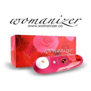 Introducing The Womanizer; a new item straight from Germany that not only promises its user lust & satisfaction, but is a proven time saver for the woman on the go. This isn't a traditional vibrator, in fact it isn't a vibrator at all. The Womanizer uses brand-new technology that can produce an orgasm in under 1 minute.
