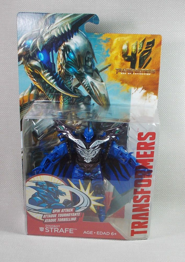 Transformers - Age of Extinction - Strafe - Action Figure - 5  - Hasbro 2013