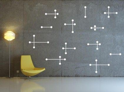 Atomic Wall Sticker by zazous