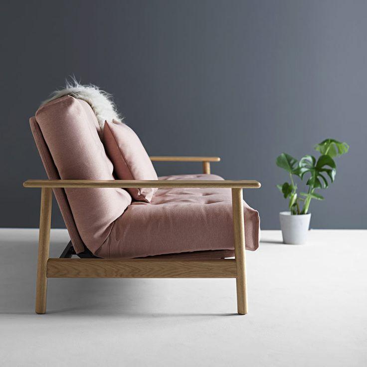 canapé lit clic-clac de luxe Balder Soft Spring - Innovation DK - LAPADD.com