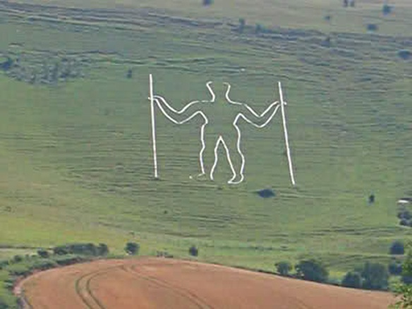 Long Man of Wilmington, East Sussex