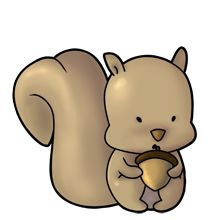 Squirrel - Lots of clip art on this site
