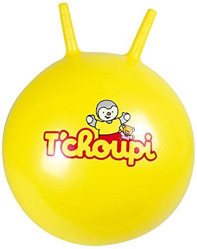 T'Choupi - Otch056 - Jeu De Ballons - Tchoupi - Sauteur - Diamètre 45 Cm