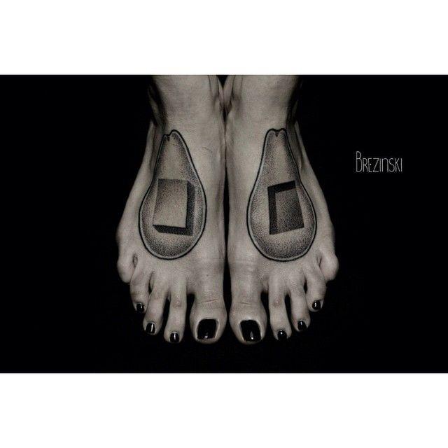 Best Body Art XII Images On Pinterest Tattoo Ink Tattoo - Surreal black ink tattoos by ilya brezinski