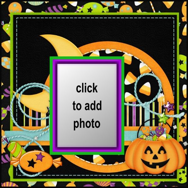 Mejores 107 imágenes de Halloween Frames en Pinterest | ¡feliz día ...