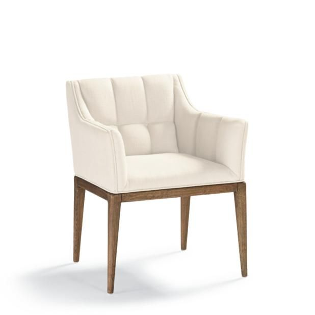 Gramercy Sandstone Dining Arm Chair With Images Dining Arm