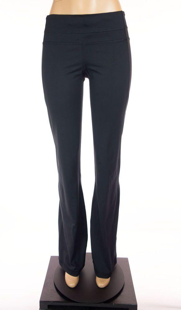 LULULEMON Pants Size 10 M Black Mesh Yoga Print Drawstring Waist Luon #Lululemon #PantsTightsLeggings