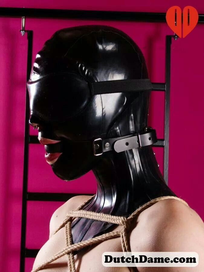 latexfetish bondage tape