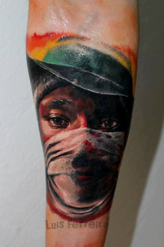 99e0d77da Man tattoo by Luis! Limited availability at Revival Tattoo Studio ...