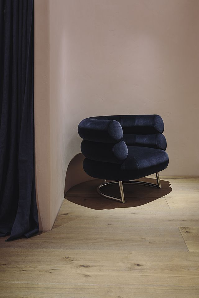 TDC: Lonely Boutique by Rufus Knight | Bibendum Chair by Eileen Gray