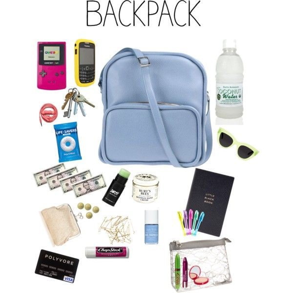 What's in my backpack?