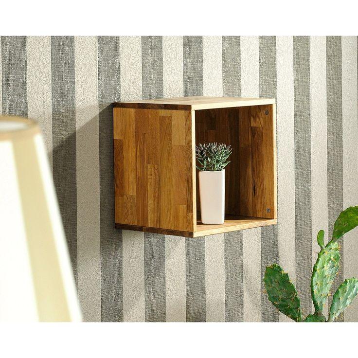 Regal Cube (1er, Eiche, geölt) - Dänisches Bettenlager