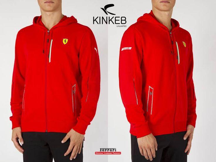 Sudadera Puma Scuderia Ferrari Zip Up Hoodie 761724 02