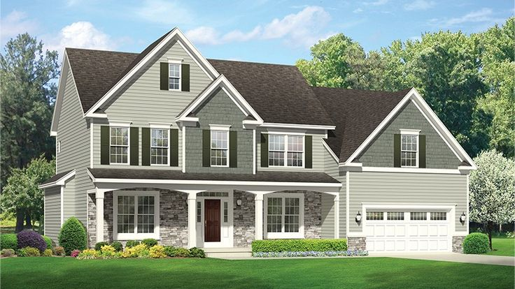 Home Plan HOMEPW77609 - 3224 Square Foot, 6 Bedroom 3 Bathroom Colonial Home with 2 Garage Bays | Homeplans.com