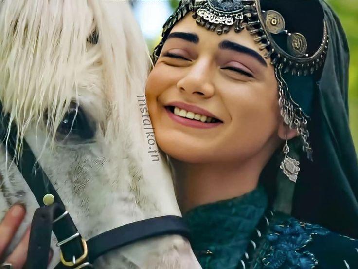 Pin by rana noman on bala hatun in 2020   Alone girl pic, Turkish culture, Osman