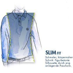 T-shirt Slim Fit Langarm-poloshirt Aus Baumwolle Mit Gesticktem Polo Ralph Lauren-logo Ralph LaurenR