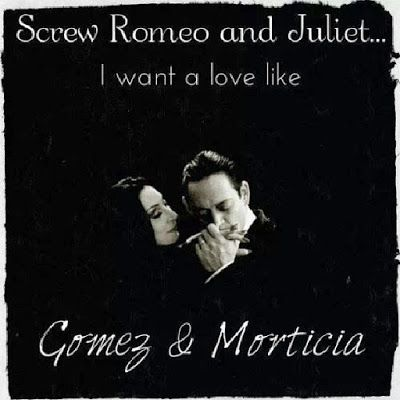 relationship like gomez and morticia halloween