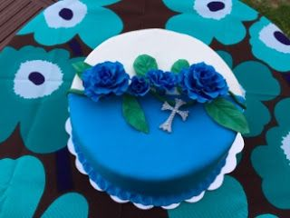 Rippikakku / confirmation cake