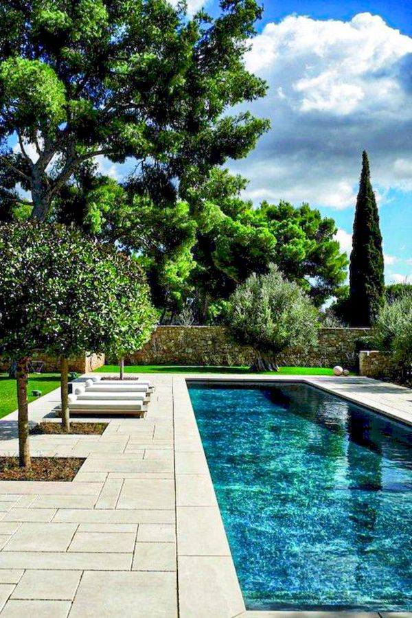 46 Wonderful Backyard Pool Ideas For You And Your Family Page 4