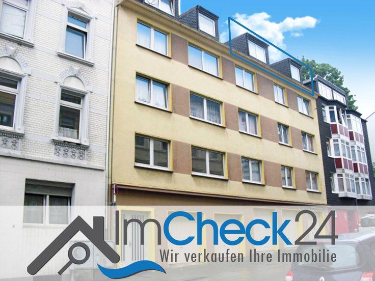 Dachgeschosswohnung Zentral Gelegen In Wuppertal Elberfeld. 3 Zimmer Mit  Tageslicht Badezimmer Und Einer