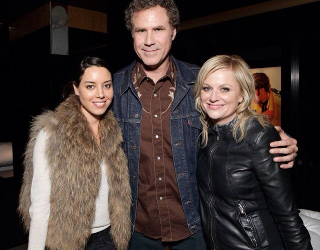 Aubrey Plaza, Will Ferrell & Amy Poehler