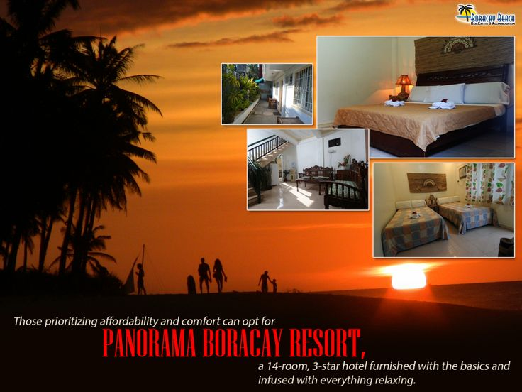 Feel the warm hospitality, relaxing decor and delicious cuisine, at the Panorama Boracay Resort, located at the fascinating tourist area of Boracay Island, Philippines.  This 14-room budget-friendly 3-star resort in Boracay is close to the beach yet far enough from all the noise of the activities in the White Beach.  #resort #hotel #Boracay #accommodation