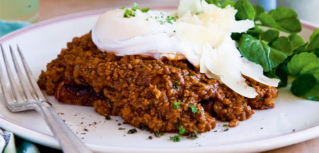 Food | Recipe | Classic Mince On Toast - Food & recipes - Recipes - New Zealand Woman's Weekly