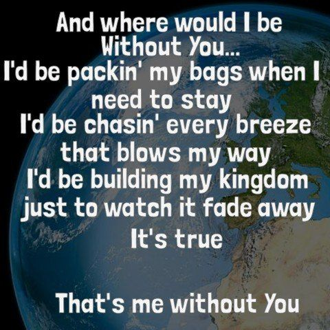 """-- #LyricArt for """"Me Without You"""" by TobyMac"""