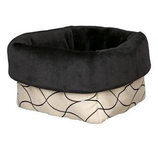 TrixieBett Nicki beige/schwarz für Hunde