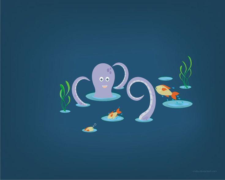 playful fish by Crabu.deviantart.com on @deviantART