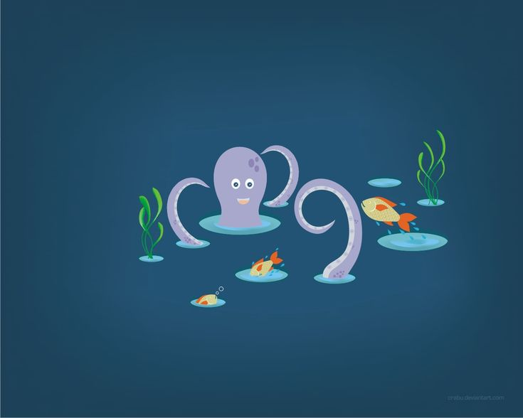 playful fish by Crabu.deviantart.com on @deviantART