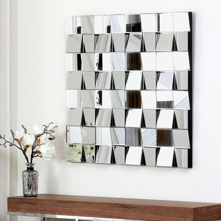 Abbyson Living Isabella Square Wall Mirror | Overstock™ Shopping   Great  Deals On Abbyson Living