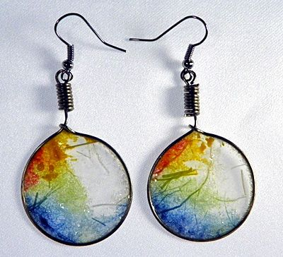 Rice Paper Earrings The Artist S Website Has Several Amazing Video Tutorials Ilovepaperbeads Bead And Jewelry Inspiration Pinterest