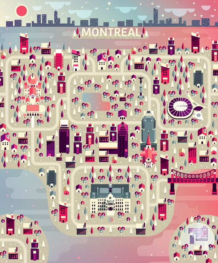 Aldo Crusher - Cosmópolis Pt. 3 - Montreal Map