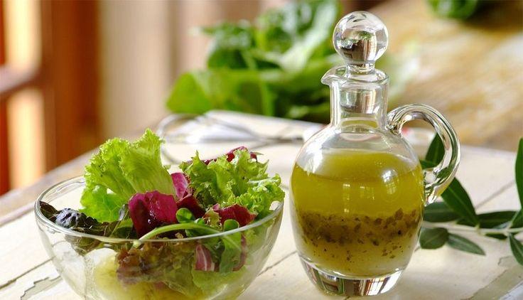 Заправка для салата: что чем заправлять