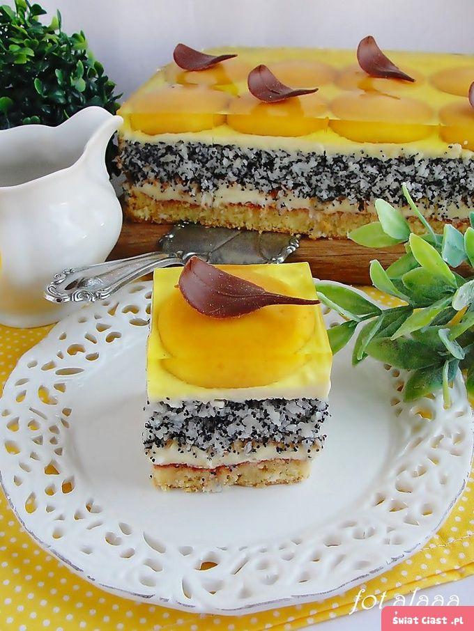 Ciasto pijak z galaretką