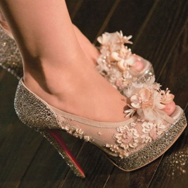 The shoes from Burlesque - Christina Aguilera :)