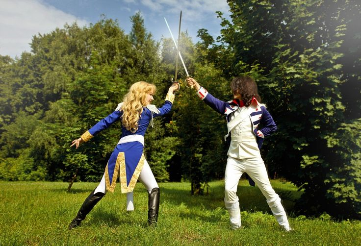 Oscar and Andre - Mara(Brutal Milady) Oscar François de Jarjayes, Andre Grandier Cosplay Photo - Cure WorldCosplay