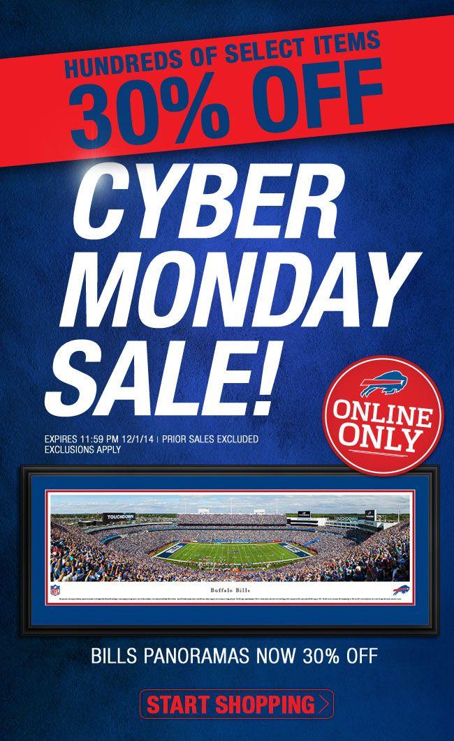 Buffalo Bills Cyber Monday Specials