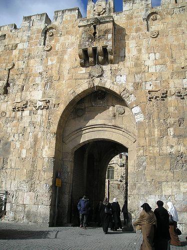 Lions Gate (باب الأسباط)~ Jerusalem, Palestine