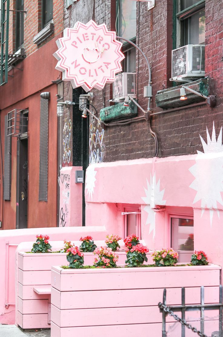 The Prettiest Pink Instagram-Worthy Spots in New York - Money Can Buy Lipstick